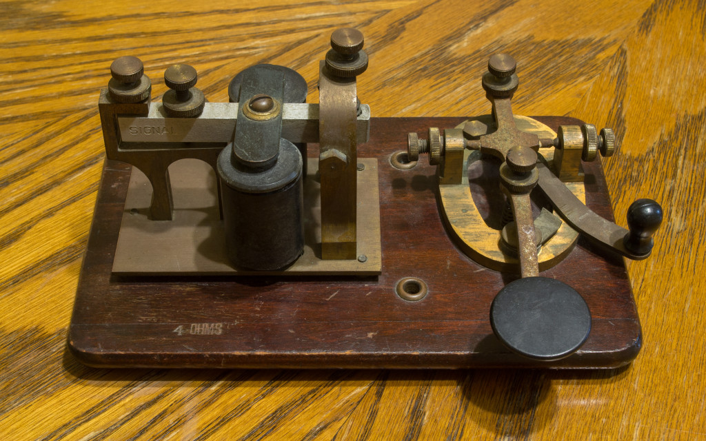 My grandfather's telegraph