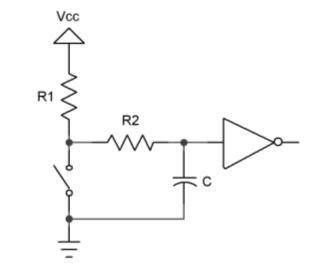 Debouncing RRC Circuit